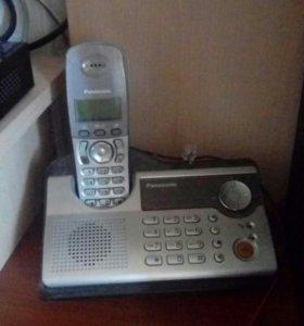 Продам стационарный беспроводной телефон panasonic