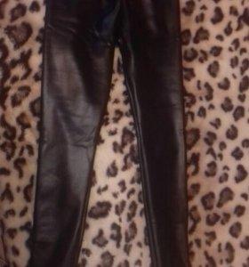 Легинсы брюки теплые с начесом