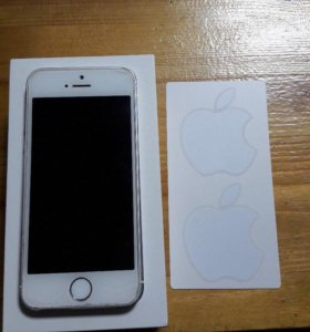 iPhone 5s 16 gd silver