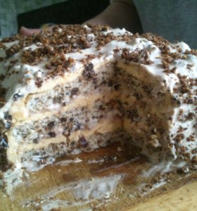 Домашние тортики для вас.