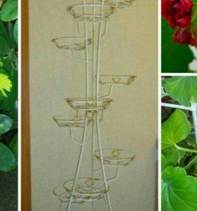 Подставка для цветов на 11 горшков