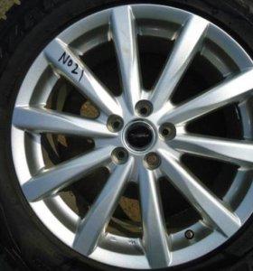 литые диски R17 Bridgestone Toprun (№14-21)