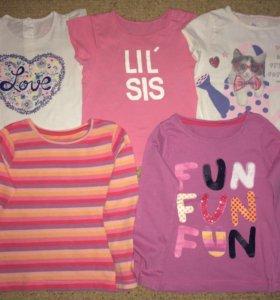 Кофты,футболки,майки.