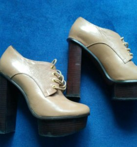 Туфли женские, натуральная кожа, 36 размер.