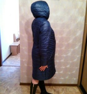 Пуховик зимний для будущих мам