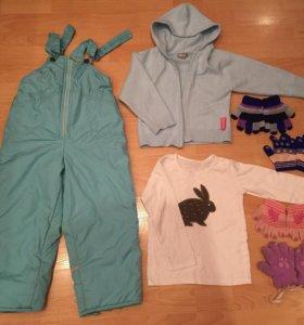 Одежда БУ пакетом девочке 98