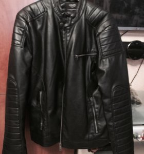 Куртка кожаная 46-48