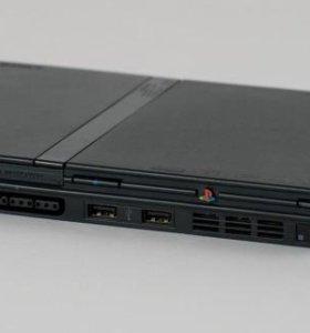 Playstation 2 + 25 игр, джойстик, карта памяти