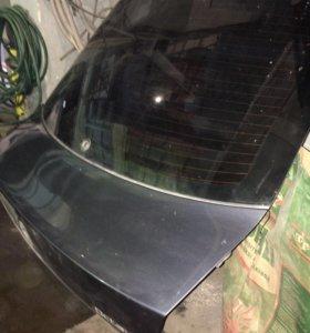 Дверь багажника шкода октавиа со стеклом