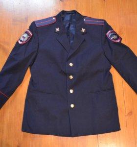 Китель полиции мужской полушерсть