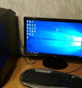 Игровой компьютер+ монитор 24 дюйма.