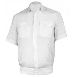 Рубашка полиции мужская белая короткий рукав