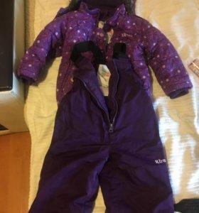 Зимний костюм x-trem на 2 года