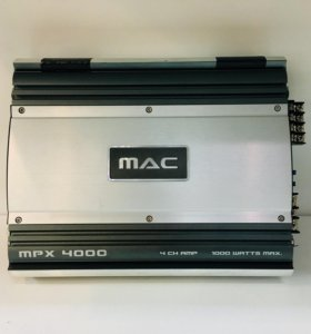 Отличный автомобильный усилитель Mac Audio mpx4000