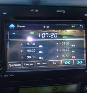 Магнитола Toyota Prada 120