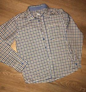 Рубашка клетчатая для мальчика «этти детти» (134)
