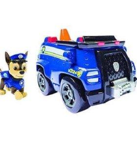 Щенячий патруль собака+машинка