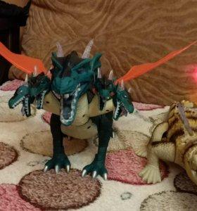 Интерактивные динозавры, крокодил. Новые