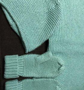 Набор : шарф, шапка и перчатки, Zara