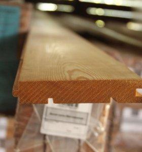 Доска пола из лиственницы (класс A) 28х120мм/140мм