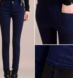 Новые лосины и джинсы на утеплителе. На зиму