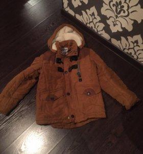 Куртка осень,рост 130-140,