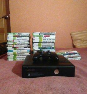 Xbox360 + все игры бесплатно