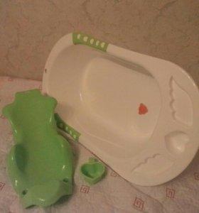 Детская ванночка happy baby