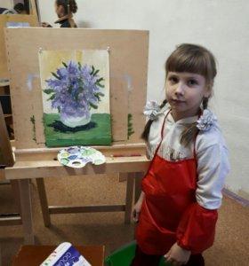 Занятия рисунок,живопись.