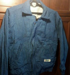 Куртка джинсовая, размер 48-50.Новая,мужская.