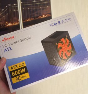 Блок питания Winard PC Power Supply ATX 600w