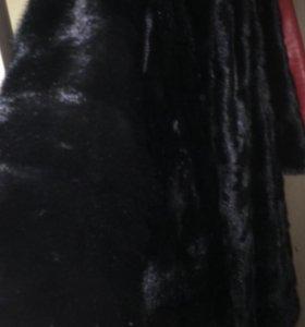 Шуба норковая( поперечка)