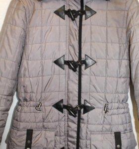 """Стеганое пальто марки одежды """"People"""""""