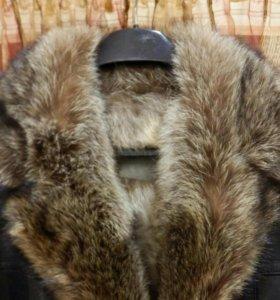 Куртка новая натуральная кожи и мех