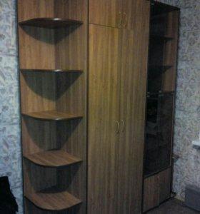 Шкаф для одежды и шкаф для книг