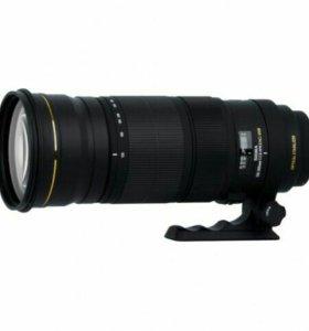 Объектив Sigma AF 120-300mm f/2.8 EX DG APO HSM Ca