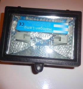 прожектор галогеновый 3 шт   150 ВТ