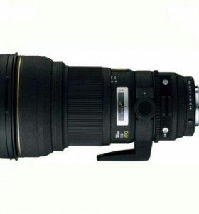 Объектив Sigma AF 300mm f/2.8 EX APO DG Canon EF