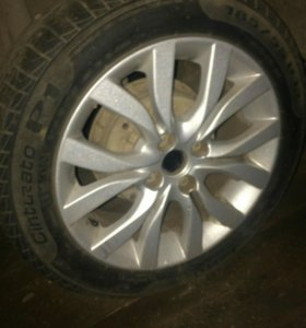 ПРОДАЮ СРОЧНО. Диски Datsun R15, резина Pirelli. К