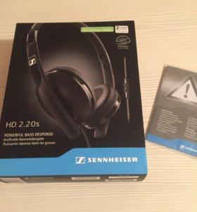 Наушники Sennheiser HD 2.20s премиум класса