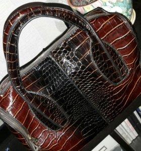 Лакированая сумочка
