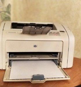 Лазерный принтер hp 1018