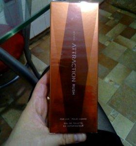 Мужской парфюм Attraction Rush от Avon