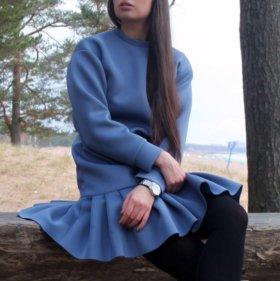Стильное платье из неопрена