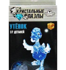 3D пазл кристальный Утенок L New 3D Crystal Puzzle