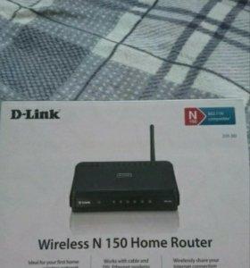 Беспроводной маршрутизатор D-link DIR-300