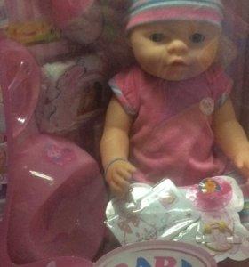 Кукла baby born (baby love)