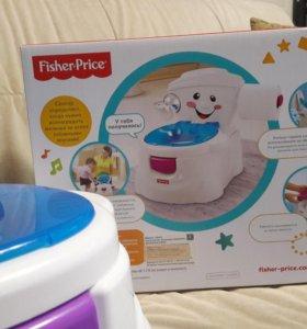 Детский музыкальный горшок Fisher price