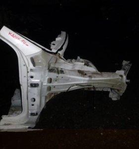 Лонжерон передний правый для Nissan Qashqai (J11)