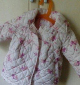 Куртка с флисом